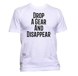2019 mechanisches getriebe Lassen Sie einen Gang fallen und verschwinden Sie Slogan Mechanic T-Shirt Herren Damen Unisex Fashion Jersey T-Shirt mit Print rabatt mechanisches getriebe