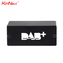 2019 antena dji Kirinavi Europa Universal DAB + Digital Radio Receiver Box DAB + USB Rádio TV Receiver Box Digital Auto Com GPS Antenna Cable