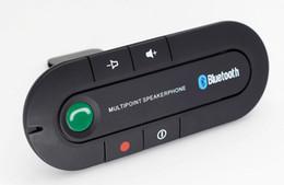 Sonnenblende Bluetooth Freisprecheinrichtung MP3 Musik Player Drahtlose Bluetooth Transmitter Freisprecheinrichtung Car Kit Empfänger Lautsprecher Autoladegerät 2019 von Fabrikanten