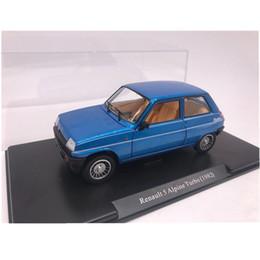 Carros alpinos on-line-1:24 Simulação Clássica 1982 renault 5 turbo alpino Modelo de Brinquedo Clássico Do Carro Liga de Fundição Carro de Brinquedo