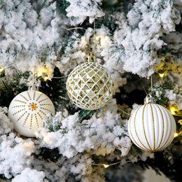 Decorazioni da party di 15 anni online-15 # 30Pcs Palline di Natale Bagattelle Decorazioni per albero di Natale Appese Ornament Decor 2019 Home Decor Capodanno
