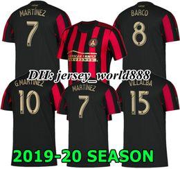 MARTINEZ 19 20 Atlanta United away white soccer jerseys HOME GARZA JONES  VILLALBA ALMIRON TOP QUALITY 2019 2020 Atlanta football shirts 6f801d826