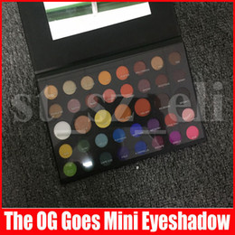 Paleta de sombra preta on-line-M 39 cores Jahed Eye Makeup O Og Vai Mini Sombras Eye Paletas Matte Shimmer sombra preta Palette