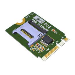 Флеш-карты онлайн-Ключ M2 NGFF A.E К Micro SD SDHC SDXC TF-карта Reardr T-Flash карта M.2 А + E адаптер