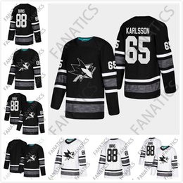 Cheap 2019 All Star Men Jersey San Jose Sharks Mens 88 Brent Burns 65 Erik  Karlsson White Black Blank Top Quality New Patch Hockey Jersey 8bffbbe74