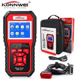 Honda auto moteurs en Ligne-Lecteur de code de diagnostic automatique KONNWEI KW850 de scanner de voiture de fonction de scanner de voiture de scanner OBD2 ODB2 Lecteur de code universel de moteur d'OBD de scanner de voiture