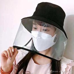 2019 cappelli di paglia ricamati Maschera di protezione dei cappelli della benna del cappello della mascherina AntiVirus Anti Virus polvere cappelli della mascherina protettiva della protezione per gli uomini donne pieghevole Nuovo Desigen