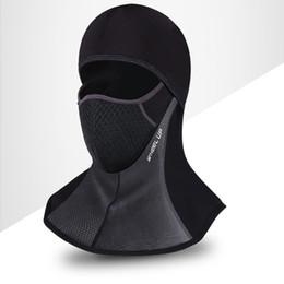 Gesichtsmaske Schutz Halswärmer Hut West Radfahren Außen Polyester Sports