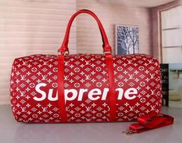 Melhores marcas de sacos de qualidade on-line-Melhor Novo estilo dos homens da qualidade designers de L-luxo Nunca Top Viagem bagagem saco homens totes keepall bolsa duffle sacos de marcas de moda