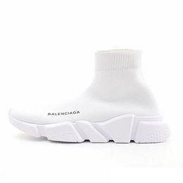 2019 дизайнерские носки мужские женские кроссовки модная обувь черный белый красный глиттер зеленый розовый Плоские мужские кроссовки Runner повседневная обувь размер 36-45 от
