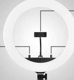 treppiede Sconti Live luce dell'anello supplemento di 18 pollici di auto luce fotografia 45 centimetri mobili bellezza illuminazione a LED luce della macchina fotografica
