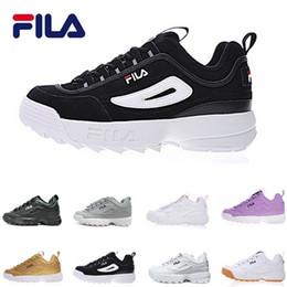 New Disruptors 2 Sawtooth bianco nero Pink II FILAS Donna mens Designer  sneakers piattaforma sportiva con scarpe Trainer Chaussures 36-44 1816a4fc94f