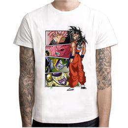 2020 niño camiseta dragón La camiseta más nueva de Dragon Ball Super Saiyan Dragonball Z Son Goku camiseta Capsule Corp camiseta hombres niños tops niño camiseta dragón baratos