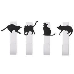 Cucina a forma di gatto carino porta appendiabiti in ferro appendiabiti appendiabiti supplier iron clothing hangers da appendiabiti di ferro fornitori