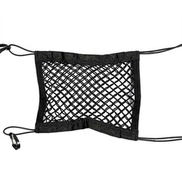 2020 bloco de assento Front Seat Car Block Storage Net bolso Universal Duplo Storage Bag Net bloco de assento barato