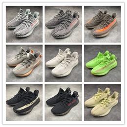 Com Caixa) 2019 Novo 350 Homens Mulheres Sapatos Em Execução Estática Creme de Raça Preta Branco Sesame Kanye West Sneakersyeezyyeezys350 de Fornecedores de grande mochila tática preta