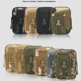 743176d8b8c3a0 fall universelle tarnung Rabatt Outdoor Tactical Taille Gürteltasche  camouflage Military Molle Hüfte Universal Geldbörse Tasche Geldbörse