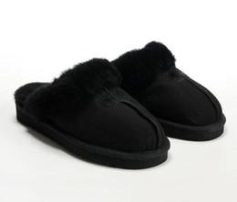 VENDITA CALDA 2019 Pantofole di cotone caldo di alta qualità Pantofole da uomo e donna Stivali corti Stivali da donna Stivali da neve Pantofole di cotone da interno di design da stivali misti quadrati fornitori