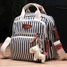 2019 großhandel krankenpflege taschen Nursing Beutel-große Kapazitäts-Baby-Beutel-Spielraum-Rucksack Designer Mode-Wickeltaschen günstig großhandel krankenpflege taschen