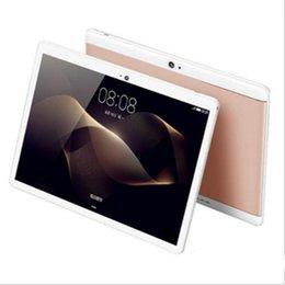 DHL di alta qualità Octa Core da 10 pollici MTK6582 IPS touch screen capacitivo dual sim 3G tablet telefono pc android 6.0 4 GB 64 GB da fasci di compresse fornitori