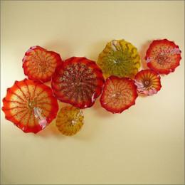 Moderne Art Déco Plaques murales en verre de Murano de Style européen sur mesure Plaques en verre soufflé faites à la main Art Conçu Lampes murales pour le décor de la cuisine ? partir de fabricateur