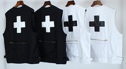 2019 terno preto da marinha sob medida LUGARES + FACES VEST colete P + F 3M Reflectiv Colete casaco preto e branco Cross tactical pocketRoupa de trabalho