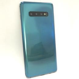 2019 tarjetas sim francesas 6,4 pulgadas Goophone S10 Plus S10 + Android 9.0 Quad Core MTK6580 1 GB RAM 16 GB ROM 1440 * 720 HD 8MP 3G WCDMA Teléfonos desbloqueados