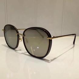 2019 vidros de marca da marca v Venda quente-2018 V Marca Moda Estilo GM MAD CRUSH Polarizada óculos de Sol Das Mulheres Da Marca de Design Óculos de Sol Oculos De Sol Feminino óculos de sol com vidros de marca da marca v barato