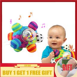 2019 pano bebê brinquedo bola Agarrar Bebê Fun Bola Bonito De Pelúcia Macia Mão de Pano Chocalhos Educação Brinquedos de Presente Das Crianças Brinquedo Q190604 pano bebê brinquedo bola barato
