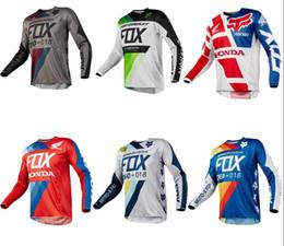 Argentina 2019 New Blackout fox Jersey - MX Motocross Off-Road ATV Dirt Bike Gear Y1 cheap new motocross gear Suministro
