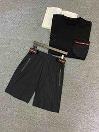2019 felpa con cappuccio anatra coreana  20ss PARIGI Italia pantaloncini fantasia casual Street Fashion Tasche caldi pantaloncini delle donne degli uomini