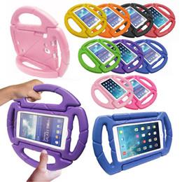 2019 neonati da tavoletta Cute Baby kids Toddler STERZO RUOTA Antiurto Custodia in schiuma EVA per tablet iPad Mini 2 3 4 Air 2 Pro neonati da tavoletta economici