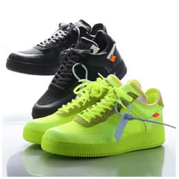 2019 Volt 2.0 1s Skateboardschuhe 1 07 Low Sport Sneakers Herrenmode für Damen Trainer Weiß Schwarz Gelb Fluoreszierende Serena Williams
