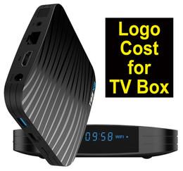 Una medida que Android TV Box costo de servicio logo coste costo adicional para la caja de la TV sin necesidad de envío desde fabricantes