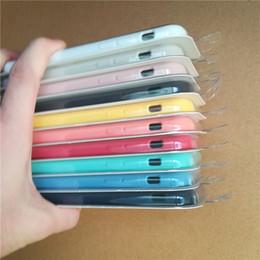 Canada Pour iPhone 7 X étui en silicone style original Liquid Silicon Caoutchouc cas avec des boîtes de détail Pour iphone x 6 6S 7 8 Plus SE Offre