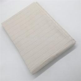 corea de tela de encaje Rebajas Plata 285cm tela de algodón ancho de la tela tierra conductora para hacer la hoja de cama tierra conductora