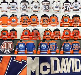 93b5f8c9f 2019 New Edmonton Oiler  27 Milan Lucic 29 Leon Draisait 33 Cam Talbot 93  Ryan Nugent-Hopkins 99 Wayne Gretzky 97 Connor McDavid Jersey