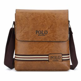 912582c4027f 2019 Promotion Designers Brand Men s Messenger Bags PU Leather Vintage Men  Shoulder Bag Man Crossbody bag