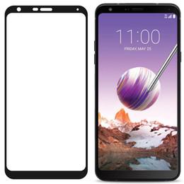 Pour LG Stylo 3 plus 4 ARISTO 2 K10 2018 K30 Q7 + bord Incurvée anti empreintes digitales Couverture totale Protecteur d'écran Trempé Verre ? partir de fabricateur