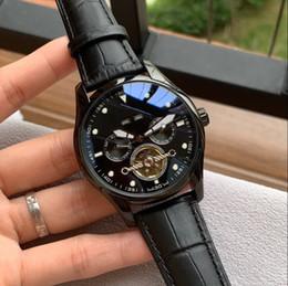 2019 relógios shanghai SHANGHAI CASUAL movimento mecânico automático OT anos DATA PRETO 42 MM CASE homens relógio por atacado novos relógios de aço inoxidável mens desconto relógios shanghai