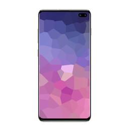 Cdma dual sim telefones índia on-line-Nova chegada Mostrar 5G rede Goophone S10 Plus S10 + telefone de 6.5 polegada Quad Core Android 3G Telefone 2 GB de RAM 16 GB ROM Desbloqueado