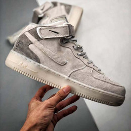 2019 Cheap Reigning Champ x Nike Air Force 1 MID 07 Nirl