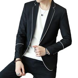 2019 мужские сплошные серые костюмы Мужская одежда Повседневная Пиджаки пиджак Drop Shipping Slim Fit M-3XL Белый Оптовая Черный Серый Мужской Твердая Blazer дешево мужские сплошные серые костюмы