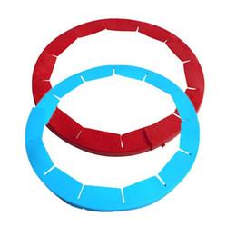 2019 anelli di cottura Teglia per torta in silicone Teglia per torta rossa Teglia per torta in crosta blu Facile da pulire Anello per pizza resistente alla temperatura elevata 9akb1 sconti anelli di cottura