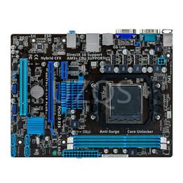 2019 quad core cpu 775 100% originales Desktop-Motherboard für Asus M5A78L-M LX3 PLUS Integrierte Grafikkarte DDR3 AM3 + Mainboard