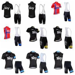 Argentina 2019 New Sky Team Ciclismo Mangas cortas Jersey (Bib) Conjuntos de pantalones cortos Ropa de ciclismo transpirable de secado rápido 3D Gel Pad Tamaño Xs -5xl 010707f Suministro