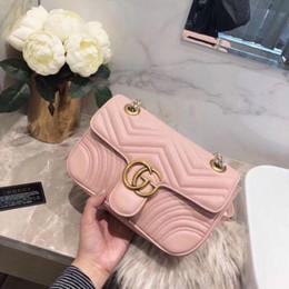2019 sac de mariage crème Classique Lady Lattice Chaîne Sac Mme Luxe De Haute Qualité Sac À Main Designer De Mode Sac À Main D'épaule Messenger Sac