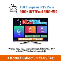 Europa IPTV Mit 1 Jahr Iptv Abonnement 4000+ Live Für Smart TV M3U Mag TV Box Android IOS Frankreich Arabisch Abonnement Iptv von Fabrikanten