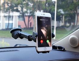 2019 gps de montagem automática Universal suporte do telefone do carro suporte gps acessórios ventosa soporte celular para auto dashboard pára-brisa móvel celular retrátil montagem desconto gps de montagem automática