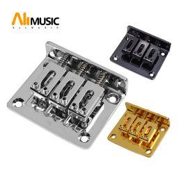 gitarren-saitenhalter Rabatt Einstellbare A Set 3 String Guitar Bridge Saitenhalter für E-Gitarre Teil MU0453